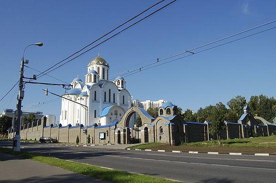 Храм Покрова Богородицы в Ясенево