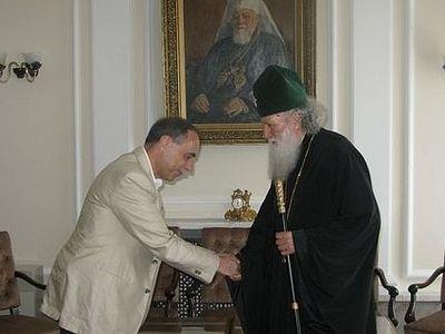 Болгарский Патриарх Неофит встретился с послом Болгарии в России