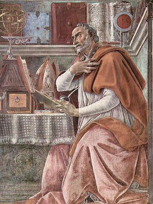 Блаженный Августин, епископ Гиппонский