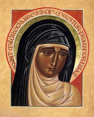 Икона святой Мильдреды