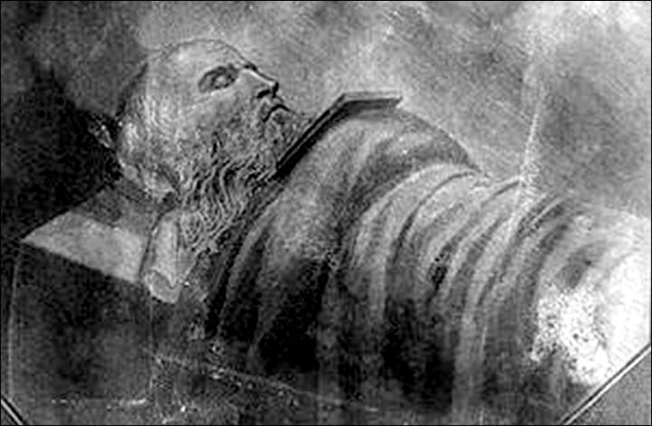 Monk Feodor on his deathbed