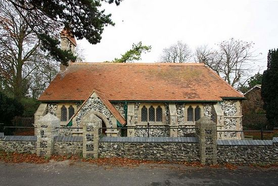 St. Mildred's Church in Acol, Kent