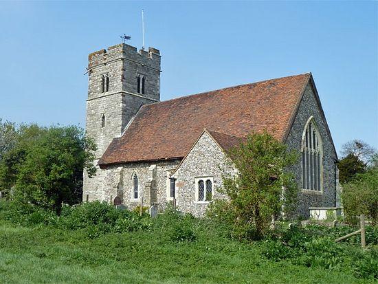 St. Mildred's Church in Nurstead, Kent