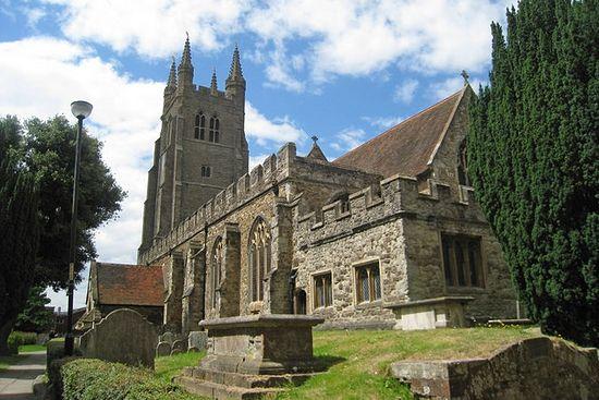 St. Mildred's Church in Tenterden, Kent