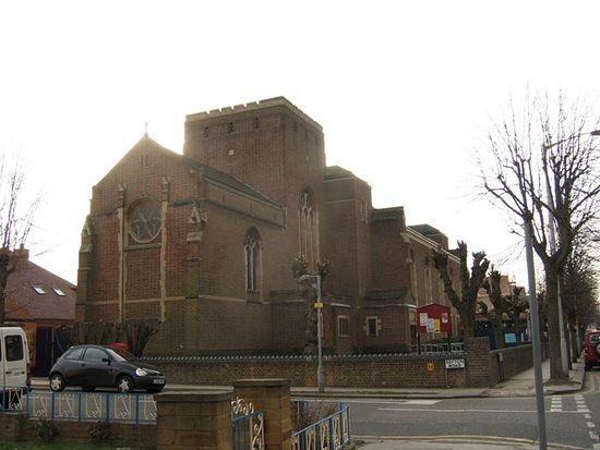 St. Mildred's Church in Bingham Road, Addiscombe, Croydon, Greater London