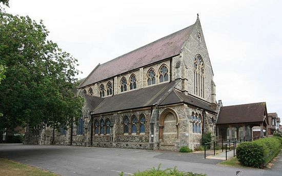 St. Mildred's Church in St Mildred's Road, Lee, Lewisham, London