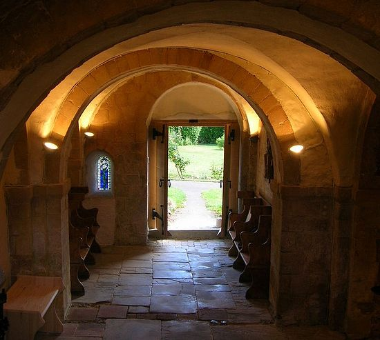 Minster crypt chapel (photo provided by Minster nuns)