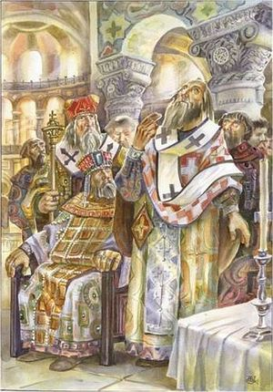 Послы киевского князя были ошеломлены увиденным