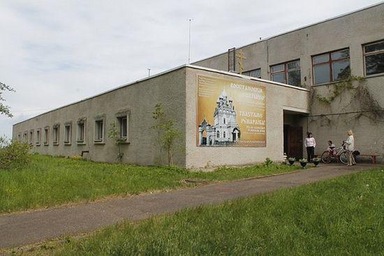 Усть-Нарва. Здание бывшей метеостанции