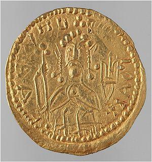 Златник чеканки времен святого князя Владимира