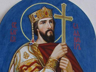 Равноапостольный князь Владимир Великий