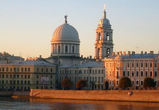 Ограбленная церковь святой великомученицы Екатерины на Васильевском острове