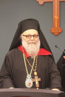 Patriarch John offers his remarks