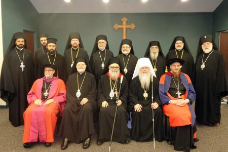 Dignitaries gathered to honor Patriarch John X