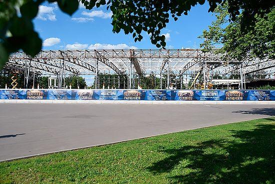 Реконструкция павильона