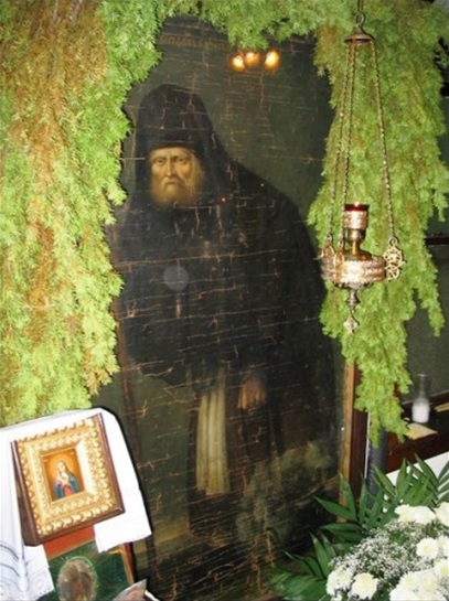 An original portrait of St Seraphim of Sarov, painted during his lifetime