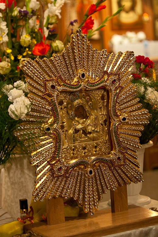 The Pochaev icon of the Mother of God
