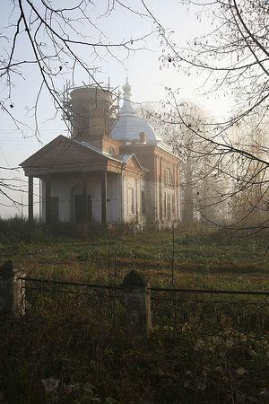 Храм в Покровском. Фото: архиепископ Максимилиан