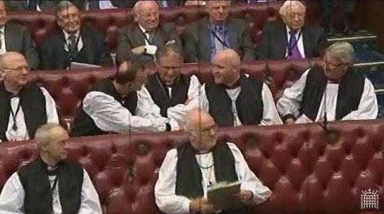 Лорды-епископы в Палате лордов