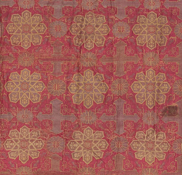 Hanging, 18th century. Armenia. Silk, gold, and silver; brocaded; L. 97 in. (246.4 cm), W. 92 in. (233.7 cm). The Metropolitan Museum of Art, New York, Gift of Mr. and Mrs. Cornelius Bliss, 1942 (42.19)