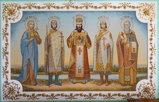 Святые покровители обители. Фото: Даниил Африн