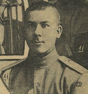 Подпоручик Владимир Котлинский
