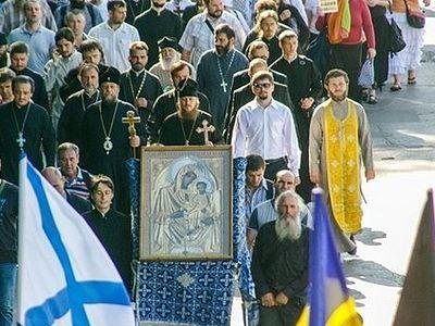 Крестные ходы в Молдавии - вокруг всей страны и в виде крестного знамения