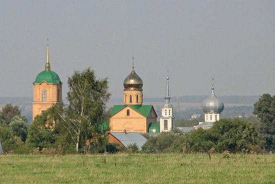 Свято-Казанский женский монастырь в селе Колюпаново