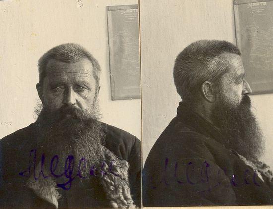 Александр Медем. Фото из уголовного дела №7. 1929 г.