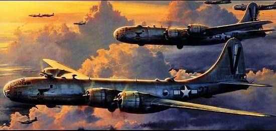Американские бомбардировщики B-29
