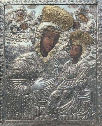 Чудотворная икона Богородицы из Путны