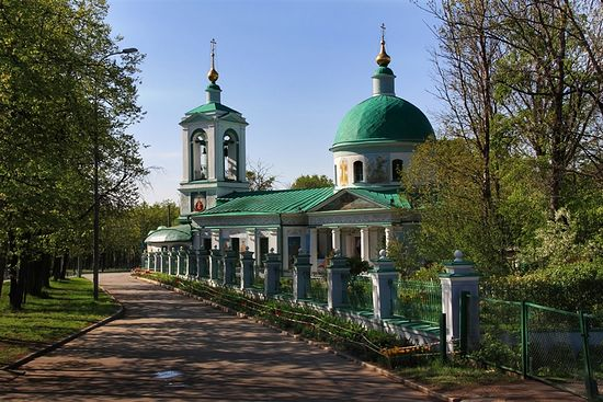 The Church of Life-Giving Trinity in Vorobyovy Gory