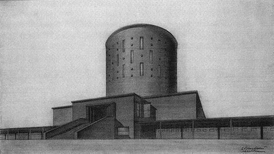 Проект крематория на территории Александро-Невской Лавры