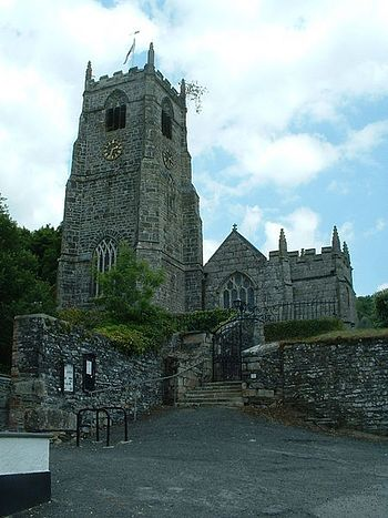 St. Neot's parish Church in St Neot, Cornwall