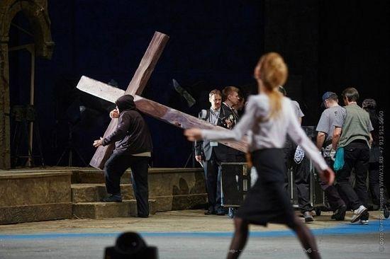 Сцена из спектакля «Тангейзер»© Виктор Дмитриев