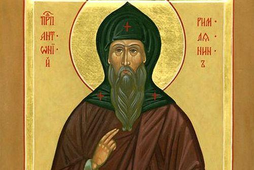 Преподобный Антоний Римлянин, Новгородский чудотворец