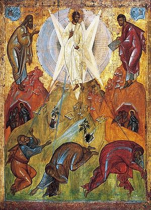 Преображение Господне. Икона. Феофан Грек. XV в.