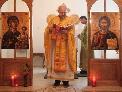 Священник Григорий Хогг