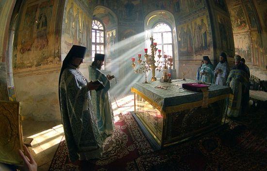 Православное богослужение. Фото: Ю.Костыгов / Expo.Pravoslavie.ru