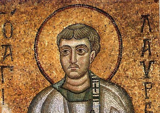 Святой мученик архидиакон Лаврентий Римский