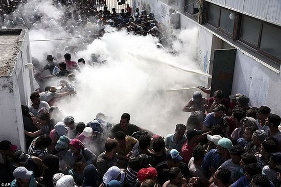 Беспорядки на острове Кос. Август 2015 г.