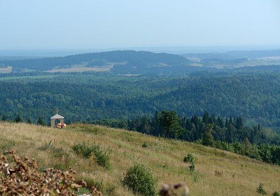Вид с Белой горы (Пермский край)