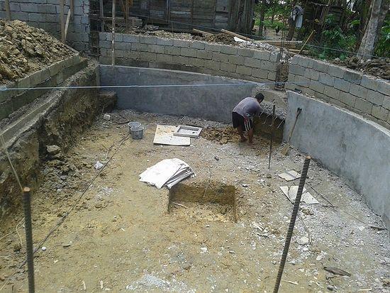 Строительство православного храма на Филиппинах
