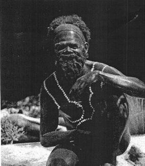 Model of an aborigene
