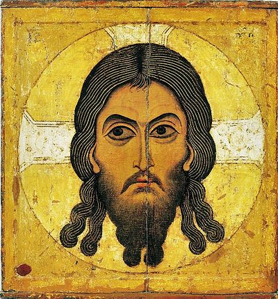 The Saviour Not Made by Hands, a Novgorodian icon from ca. 1100