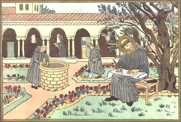 monks st benedicts holy rule College of saint benedict/saint john's university, araverty@csbsjuedu follow  this and  in his rule for monasteries shows us how to go beyond mere tolerance.