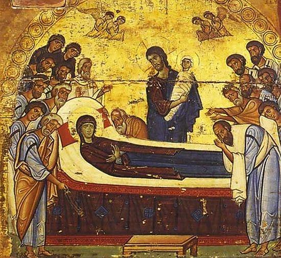 Икона Успения, монастырь св. Екатерины на Синае