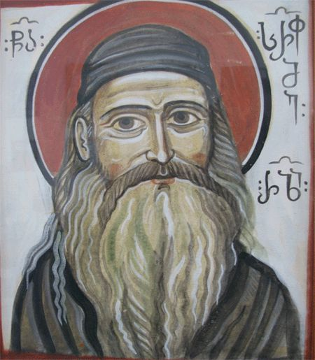 A Georgian icon of Fr. Seraphim
