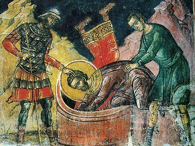 Память святых мучеников Флора и Лавра