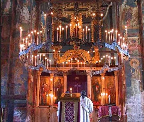 Lighting In Orthodox Churches